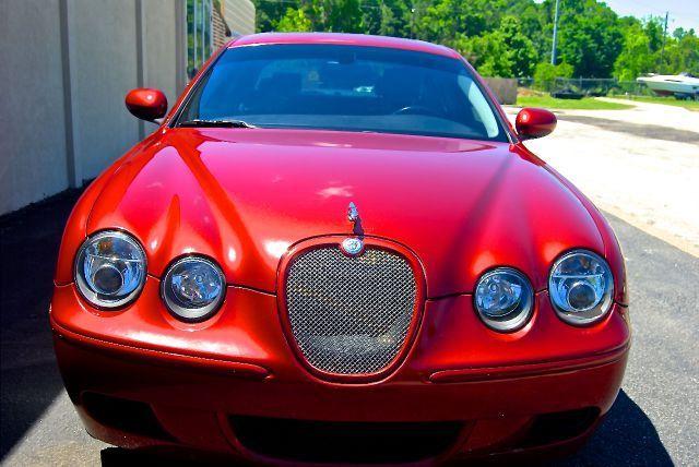 jaguar s type r 4 2l v8 4 door 4dr supercharged 400 hp touchscreen navigation. Black Bedroom Furniture Sets. Home Design Ideas