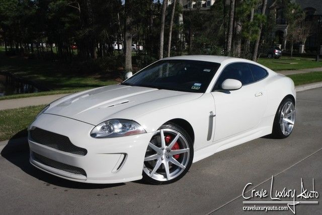 Jaguar XKR body kit Supercharged exhaust loaded 281-651-2101