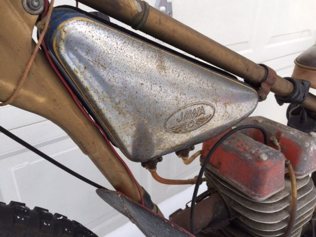 Jawa 500 Speedway motorcycle, JAP Westlake Flatrack