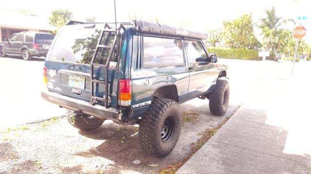 Jeep Cherokee Xj 4x4 Off Road Manual Transmission 1998 W Accessories