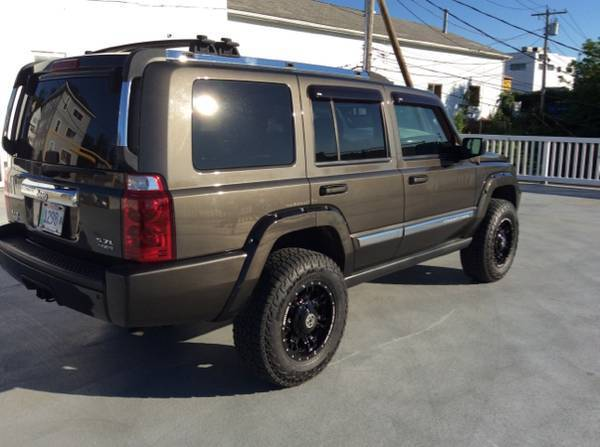 Jeep Commande Limited 5 7 Hemi Lifted 3 Inhs Navi Tow  Tv