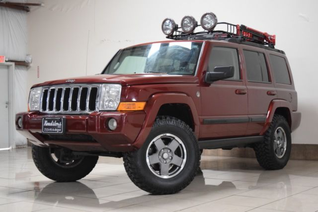 JEEP COMMANDER LIFTED 4X4 V8 ENGINE TRAIL RATED SUNROOF ...