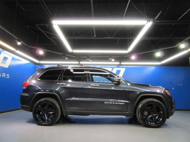 Jeep Grand Cherokee Limited 4wd Heated Seats Nav Cam Park Sense Roof Rack