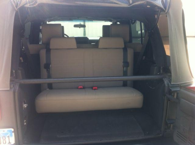 ... Third Row Seat. 2010 Jeep Wrangler