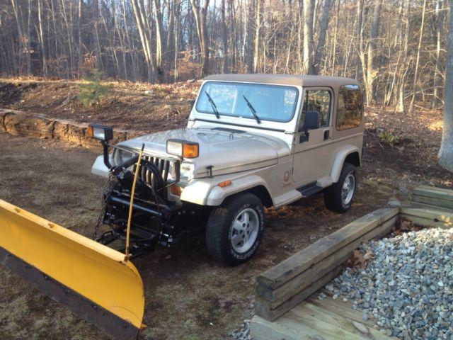 Jeep Wrangler Sahara Yj Meyers Plow