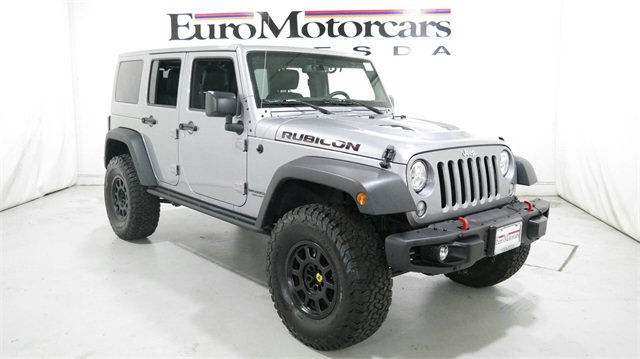Jeep Wrangler Unlimited 16 Rubicon 4wd 14 4x4 Grey Black