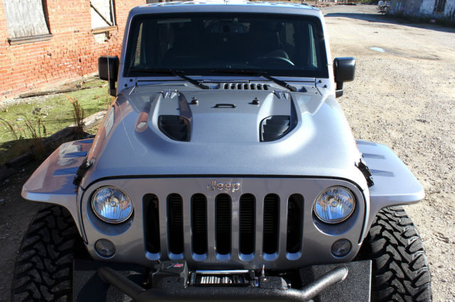 Jeep Wrangler Unlimited Rubicon Hard Rock 4x4 Lifted Bds