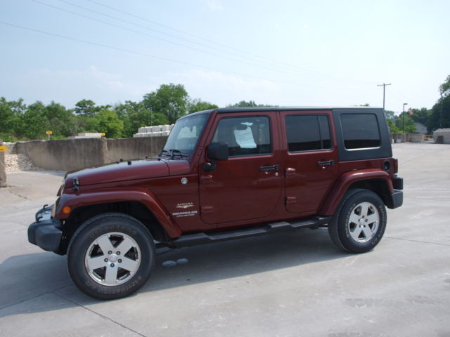 Jeep Wrangler Unlimited Sahara Auto Nav 4x4 Hard Soft Top Leather