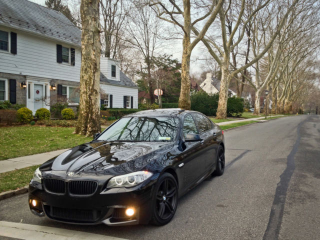 JET BLACK BMW I XDrive MSport Package Very Clean No - Bmw 550i sport package