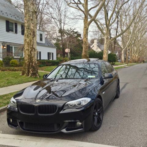 JET BLACK BMW 550i X-Drive + M-Sport Package. Very Clean ...