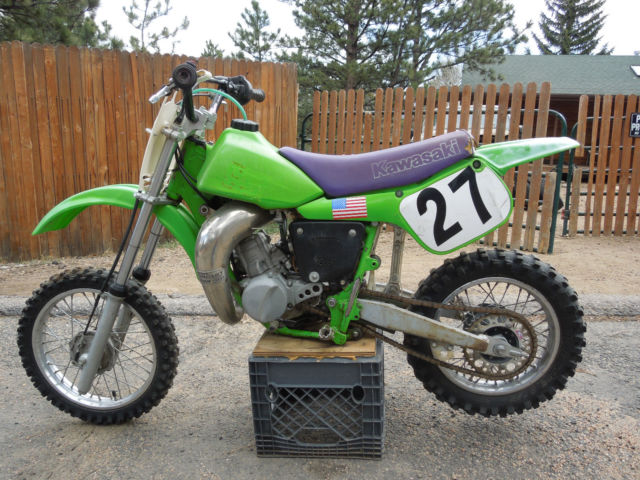 Kawasaki 60 Cc Youth Dirt Bike Used Runs Strong
