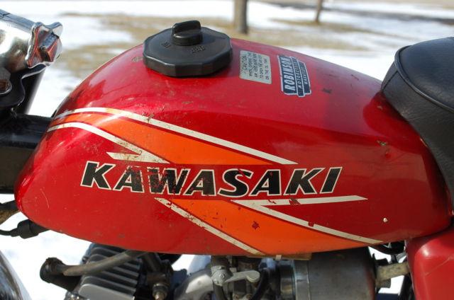 Kawasaki Kv 75 1976 Kv 75 A-5 Mini Trail 75cc 2stroke ...