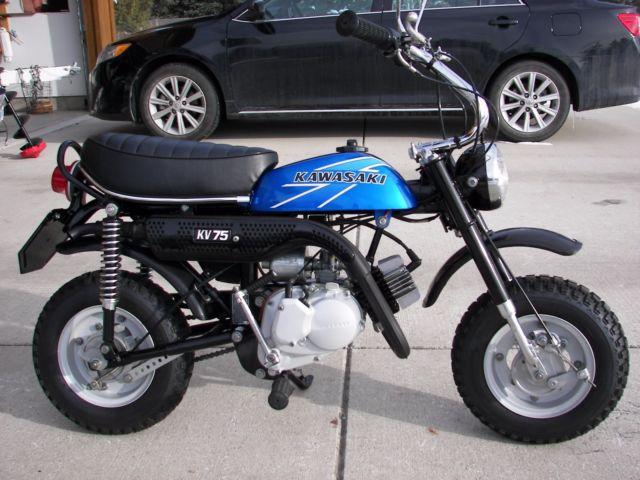 Kawasaki Kv  Mini Bike Parts