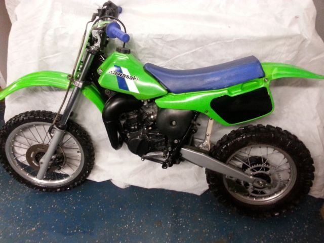 kawasaki kx80 kx 80 rm cr yz ktm dirt bike restored finish