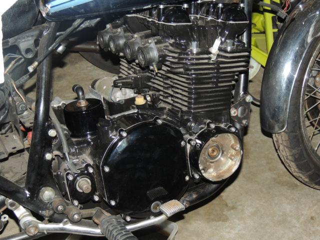 Clear Check Engine Light >> Kawasaki Z1 Frame & Engine Plus KZ900 & Z100 & Parts