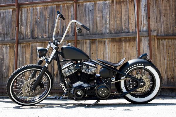King Baby 2007 Harley Davidson Hardtail Bobber Motorcycle ...