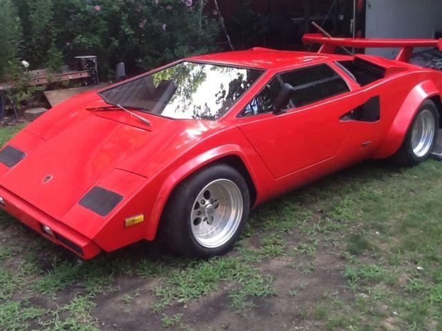Lamborghini Countach Qv Replica No Reserve