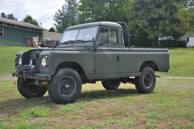 Land Rover 109 one ton pick up truck