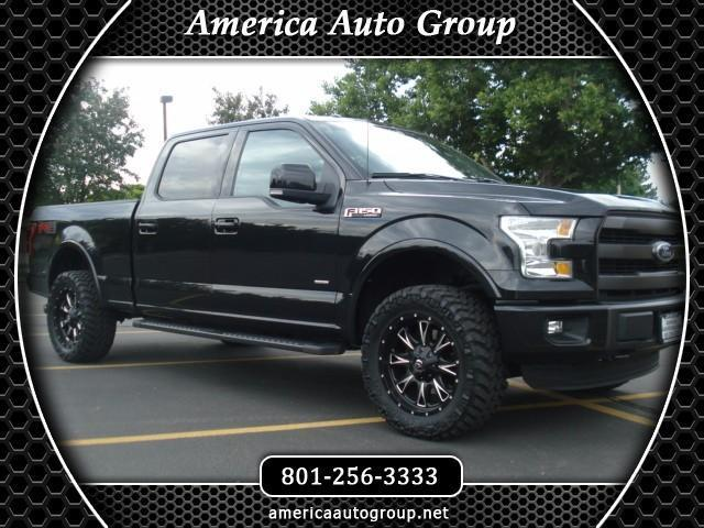 Lariat Fx Ecoboost Level Kit Custom Wheels Tires All The Bells And Whistles