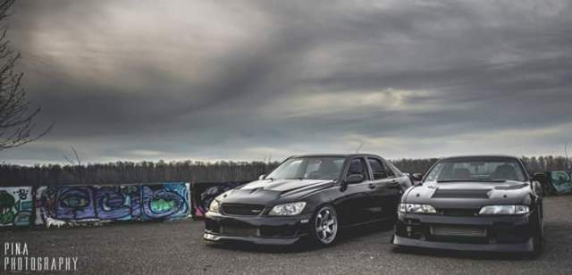 lexus is300 daily driver / built drift car 1jz vvti blitz