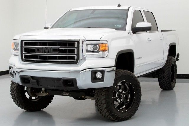 lift kit 14 sierra sle 6in pro comp 35in toyo tires bmf. Black Bedroom Furniture Sets. Home Design Ideas