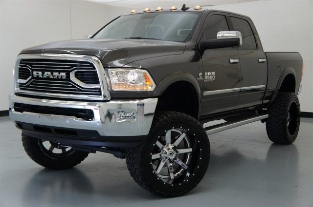 lift kit 2016 ram 2500 laramie crew cab gray fuel wheels diesel 4x4. Black Bedroom Furniture Sets. Home Design Ideas