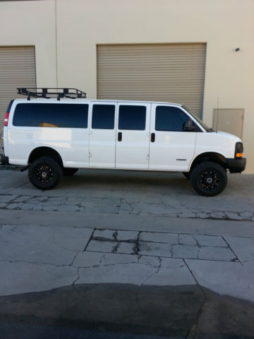 Lifted Pass Ton Van One Of A Kind Cargo Truck