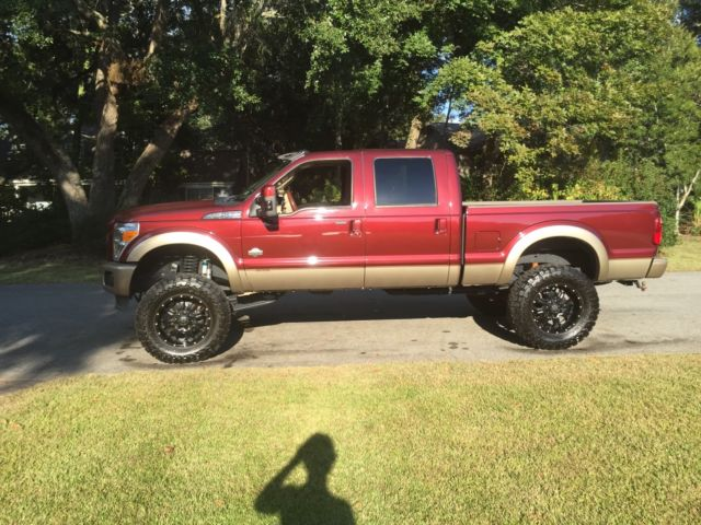 Lifted 2012 ford f250 King ranch