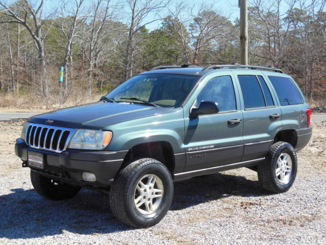 Jeep Cherokee Laredo Gas Mileage >> LIFTED 4.0L INLINE 6 LEATHER INTERIOR SUNROOF HEATED SEATS WJ SUV CHEAP 4X4 4WD