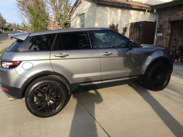 Lightly Used Grey Range Rover Evoque SE with Black ...