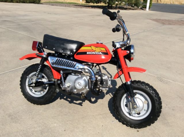Mini Bike Junkyard : Like new honda z mini trail beautiful mint