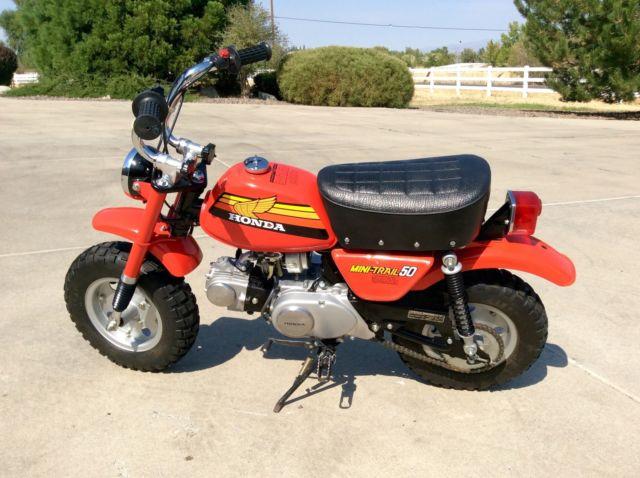 Like New 1978 Honda Z50 Mini Trail 50 Beautiful Mint