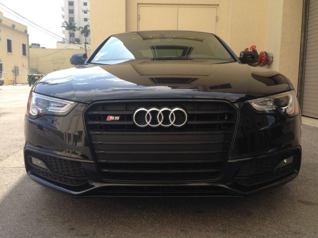 Low Mileage, Fully Loaded 2014 Audi S5 Premium Plus w/ Black Optics