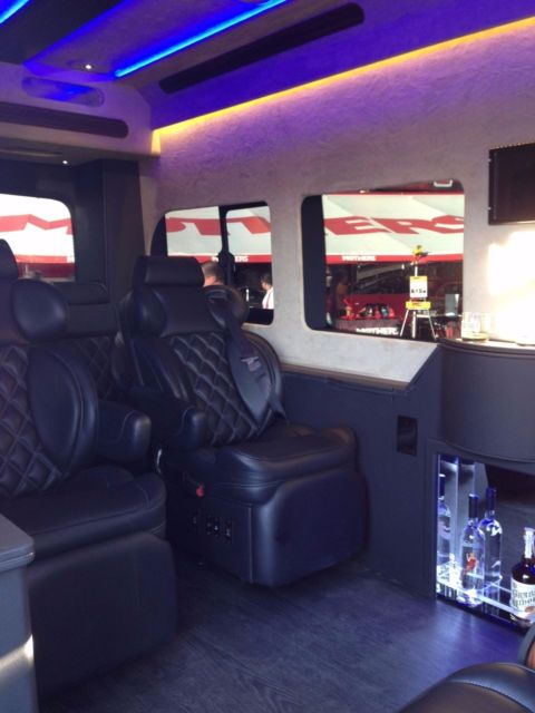 Ford Used Cars >> Luxury Executive Ford Transit 350 HD Van - Custom Limo Conversion