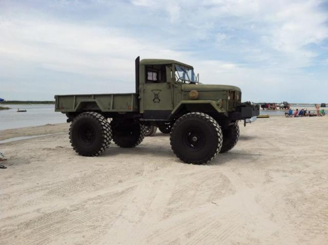 M35 Bobbed Deuce And A Half On 52 Inch Tires