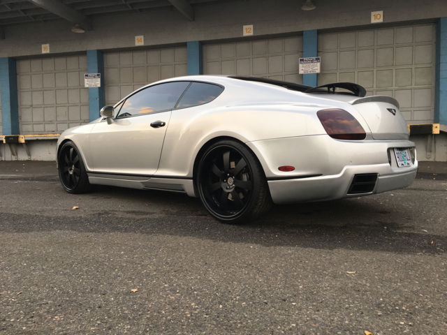 Mansory Bentley Continental Gt63 Gt Silver On Black Coupe 600hp