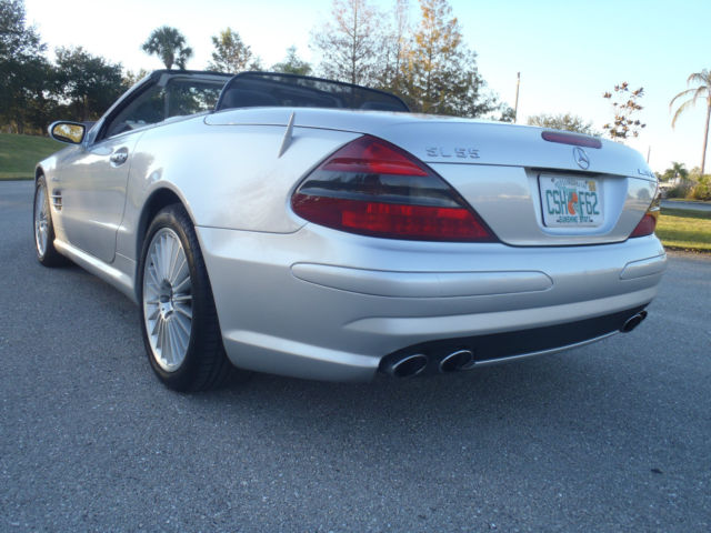 Mercedes benz 2004 sl55 amg hard top convertible stunning for 2004 mercedes benz sl55 amg for sale