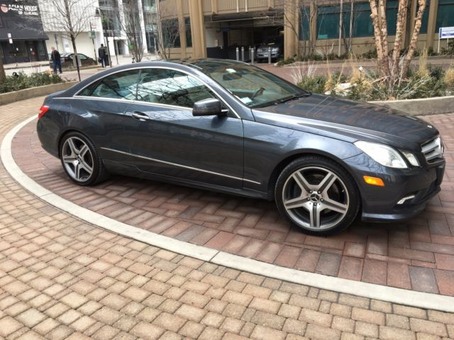 Mercedes benz 2010 e550 coupe no reserve amg package for 2010 mercedes benz e350 motor oil