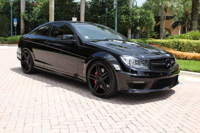 Mercedes benz c63 amg custom full warranty we finance for Mercedes benz financial phone number