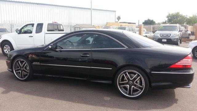 Black On Black Mercedes Cl 101