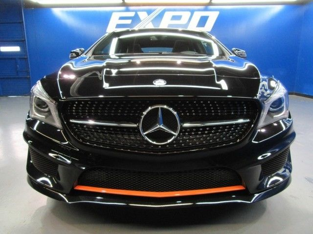Mercedes Benz Cla250 Orange Edition Sedan Contrast Stitching Nav Cam