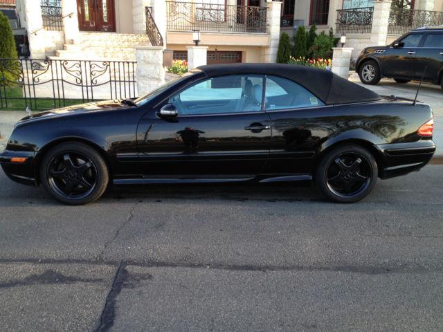 Mercedes benz clk 430 convertible black 2003 for Mercedes benz 430 clk