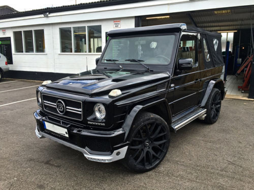 mercedes benz g class g63 brabus amg convertible only one in the uk. Black Bedroom Furniture Sets. Home Design Ideas
