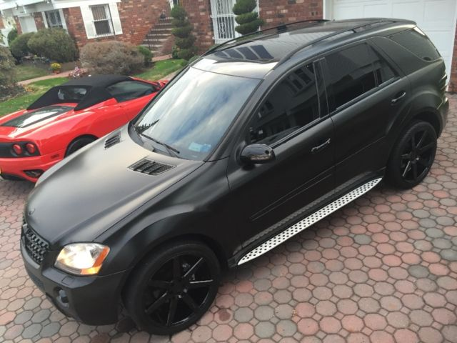 """Hid Lights For Cars >> MERCEDES BENZ ML500 ML 500 AMG WRAPPED 22"""" WHEELS EVERY ..."""