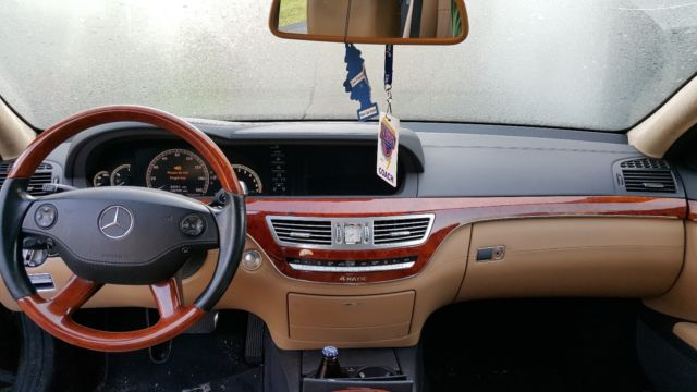 Mercedes benz s550 4matic designo espresso brown interior for 2009 mercedes benz s class s550 4matic