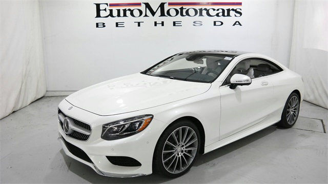Mercedes Benz Bethesda >> mercedes benz s550 s 550 coupe 4matic awd diamond white leather 16 navigation