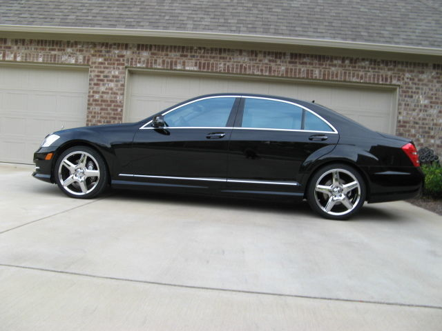 Mercedes benz s550 sport package plus one 20 amg 5 spoke for Mercedes benz s550 rims