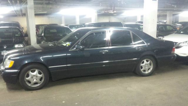 Mercedes Benz Sedan Dark Blue