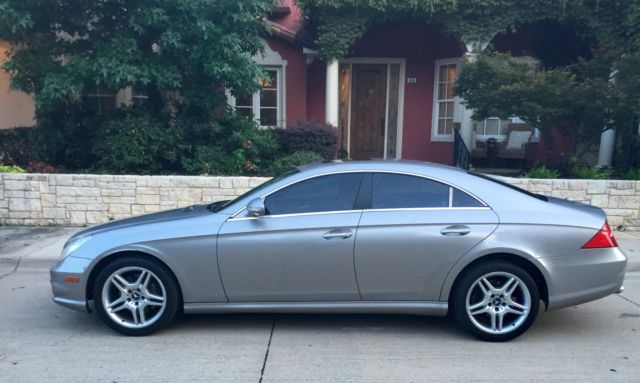 Mercedes Cls500 2006 Amg Clean Car Fax No Warning Lights On Good