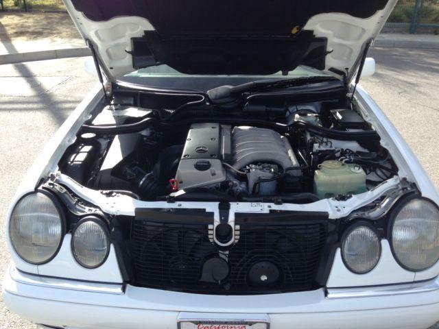 Mercedes E300 turbodiesel W210 300D SDL SD turbo diesel w124